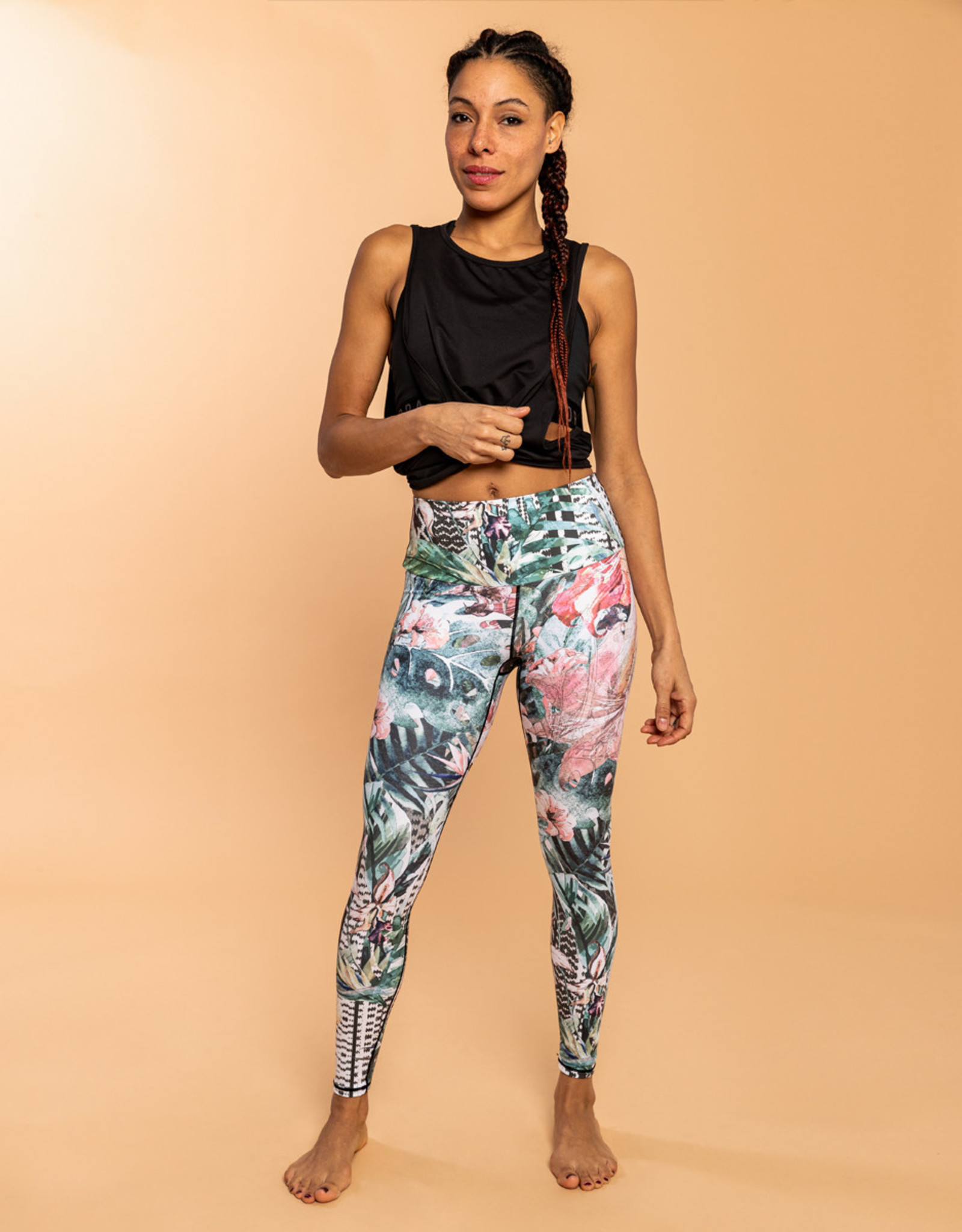 oraki Legging Oraki Ecomove Jungle Green