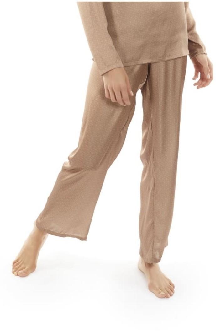 Selmark Pantalon Long Tissu Satiné Selmark 92075