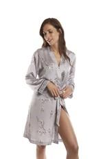 Selmark Robe de Chambre Courte Tissu Satiné Selmark 92071