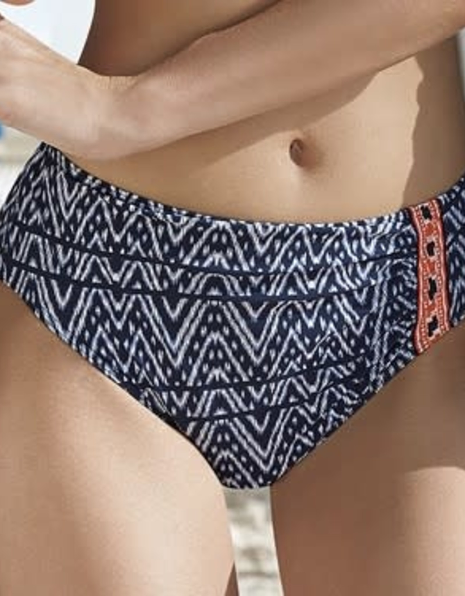 Sunflair Bas de Bikini Taille Haute Sunflair 71194