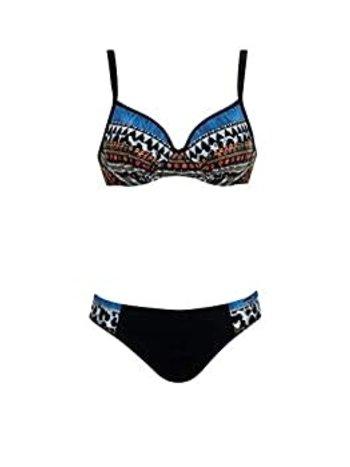 Sunflair Maillot Bikini Aztec avec Armatures et Bonnet Souple Sunflair 21081