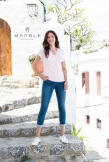 MARBLE T-Shirt Col V MARBLE 5700