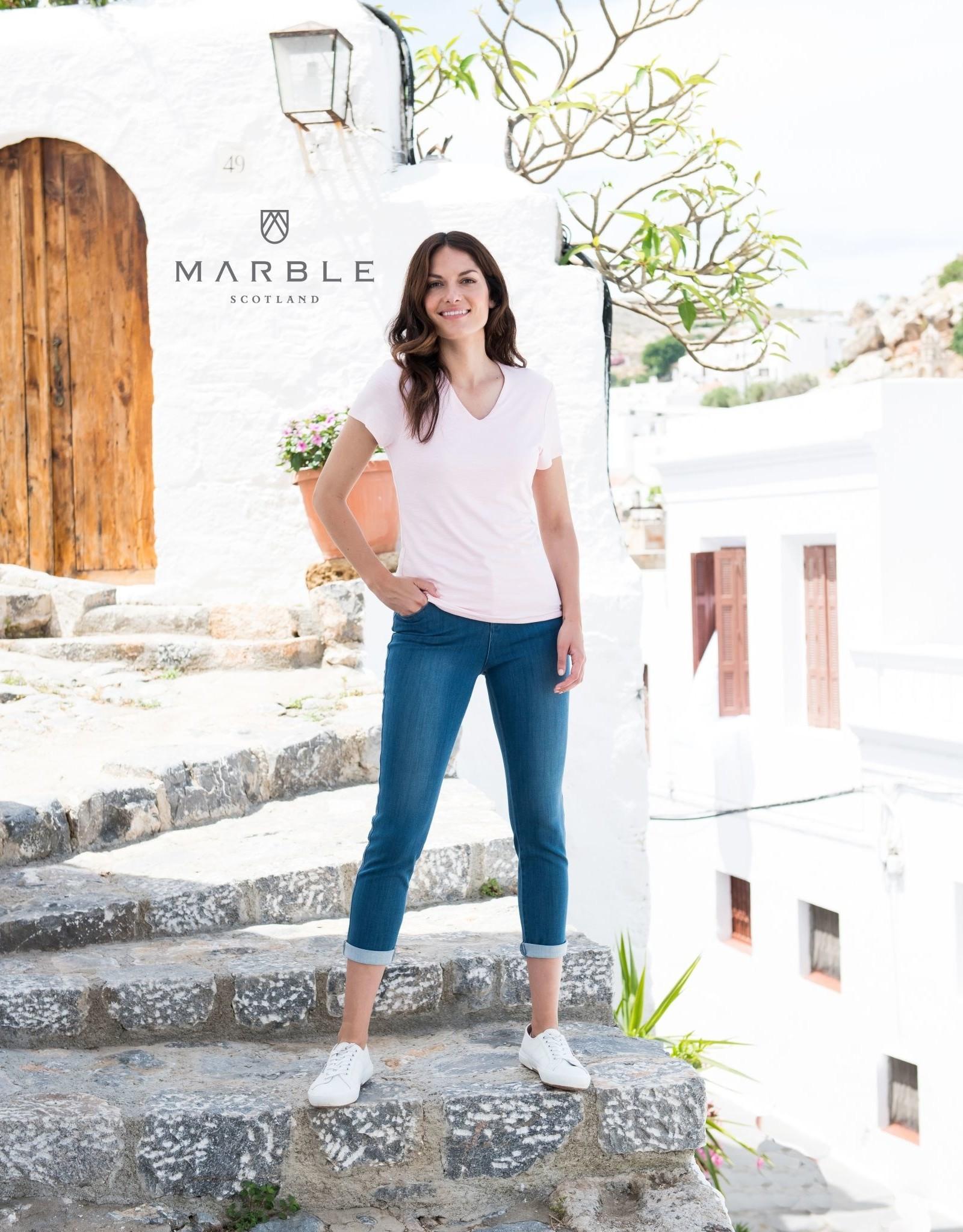 Arianne T-Shirt Col V MARBLE 5700