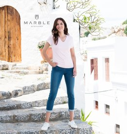 Arianne T-Shirt Col V MARBLE 5700
