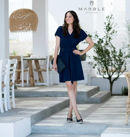 MARBLE Robe Marble Tissu léger 5778