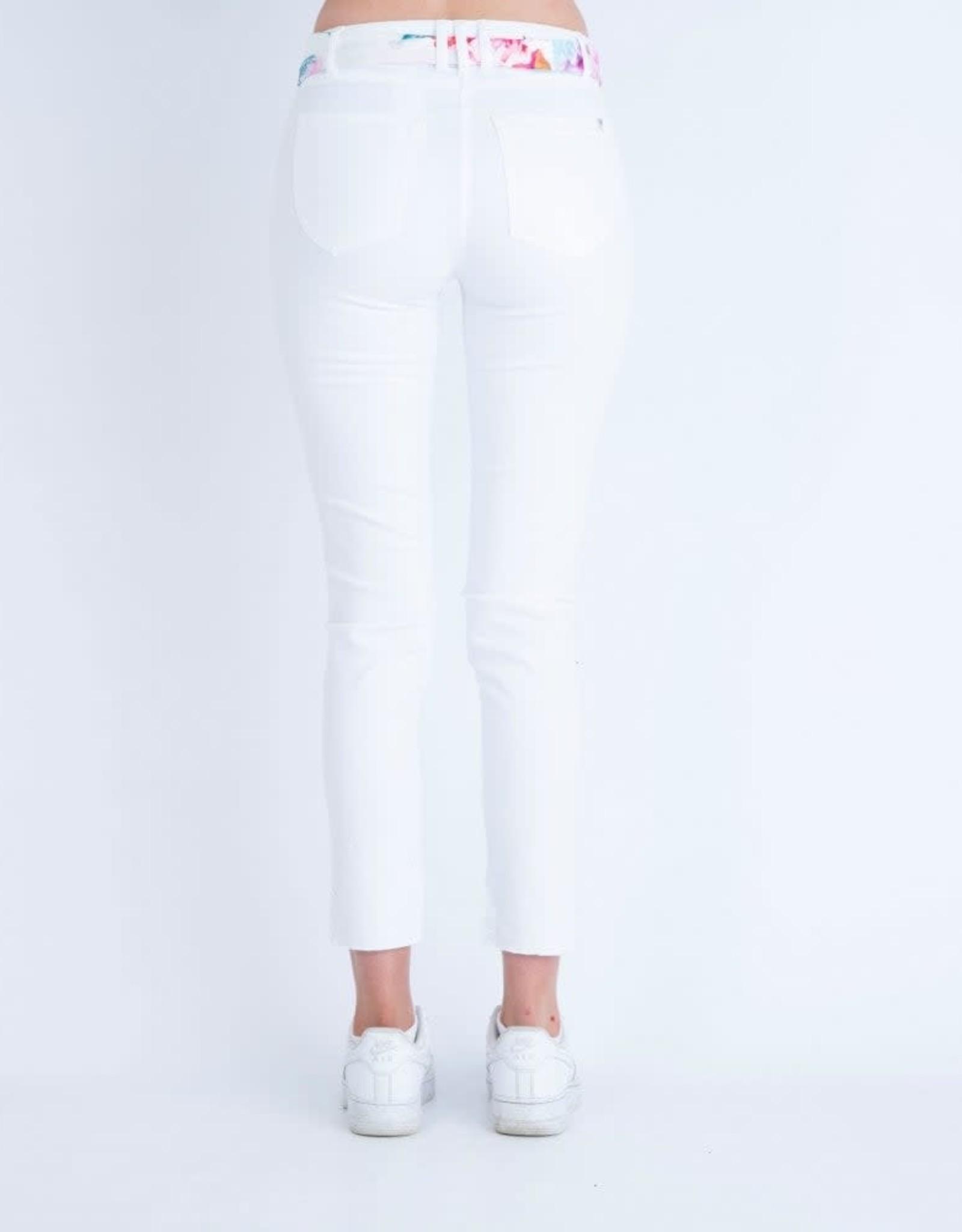 ROBELL Jeans 7/8 Elena 09 avec Ceinture Multi ROBELL 51642