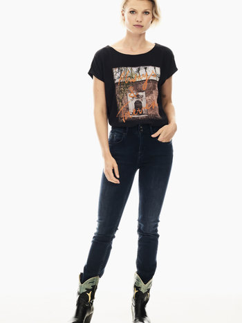 Garcia T-Shirt Ample Col Rond ''Always & Forever'' Garcia S00005