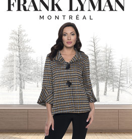 Frank Lyman Jacket Pied de Poule Manches Étagées  Frank Lyman 203635