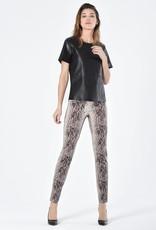 ROBELL Pantalon Super Slim Fit Motif Serpent 78 cm ROBELL Rose 52512
