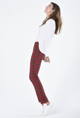 ROBELL Pantalon à Carreaux Super Slim Fit 78 cm ROBELL Rose 52624