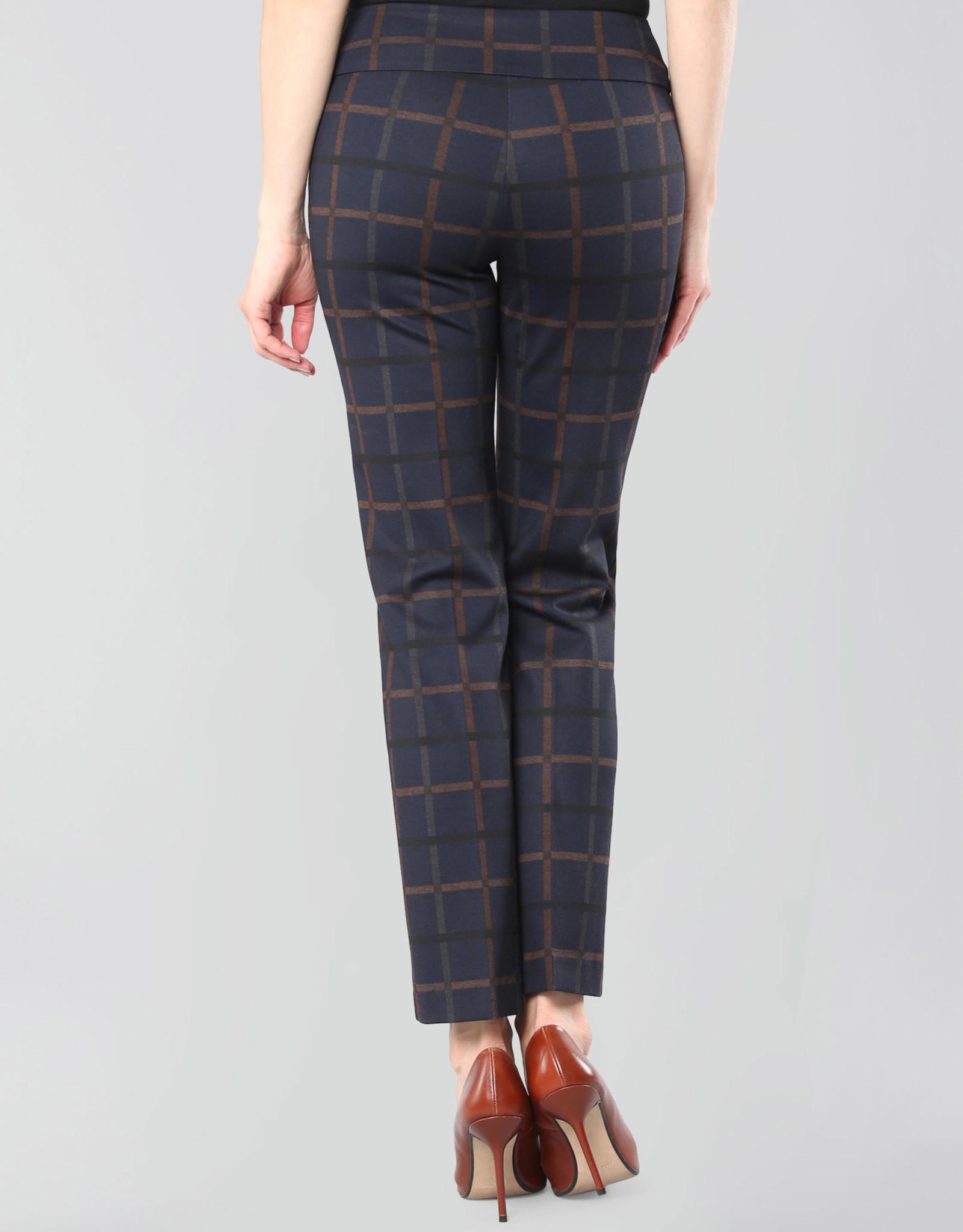 Lisette L. Montréal Pantalon Cheville Crowley Check Lisette L. 69056