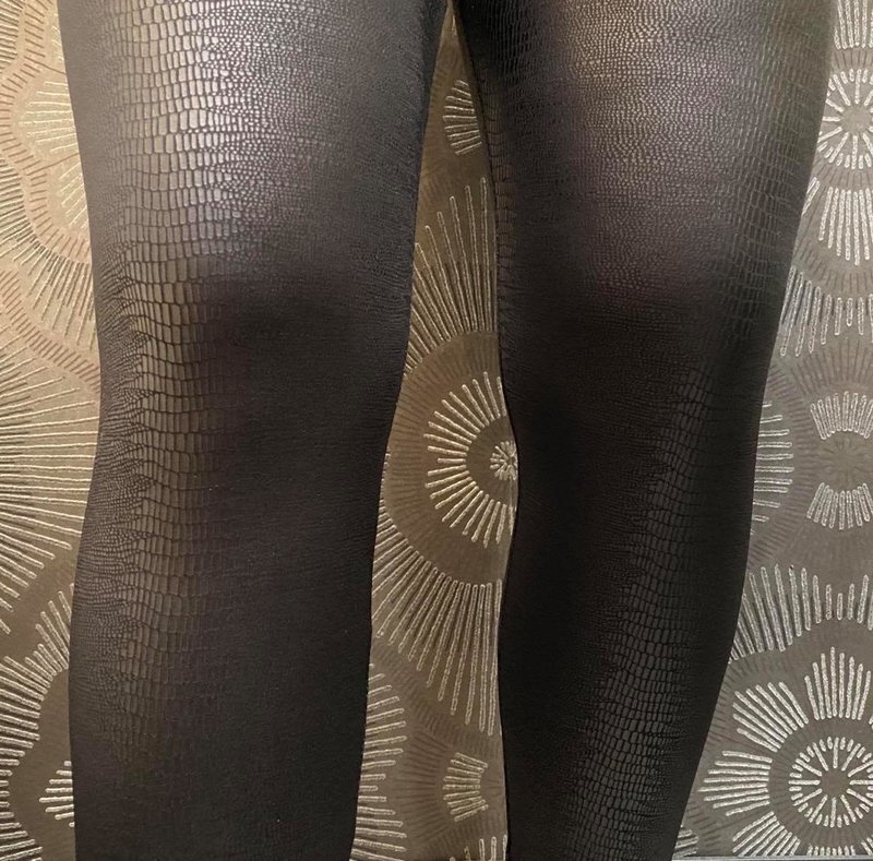 Artex Fashions Legging en Faux Cuire Effet Serpent Artex 1129067
