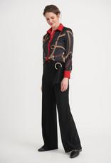 Joseph Ribkoff Pantalon Jambes Larges avec Boucle Circulaire Joseph Ribkoff 203446