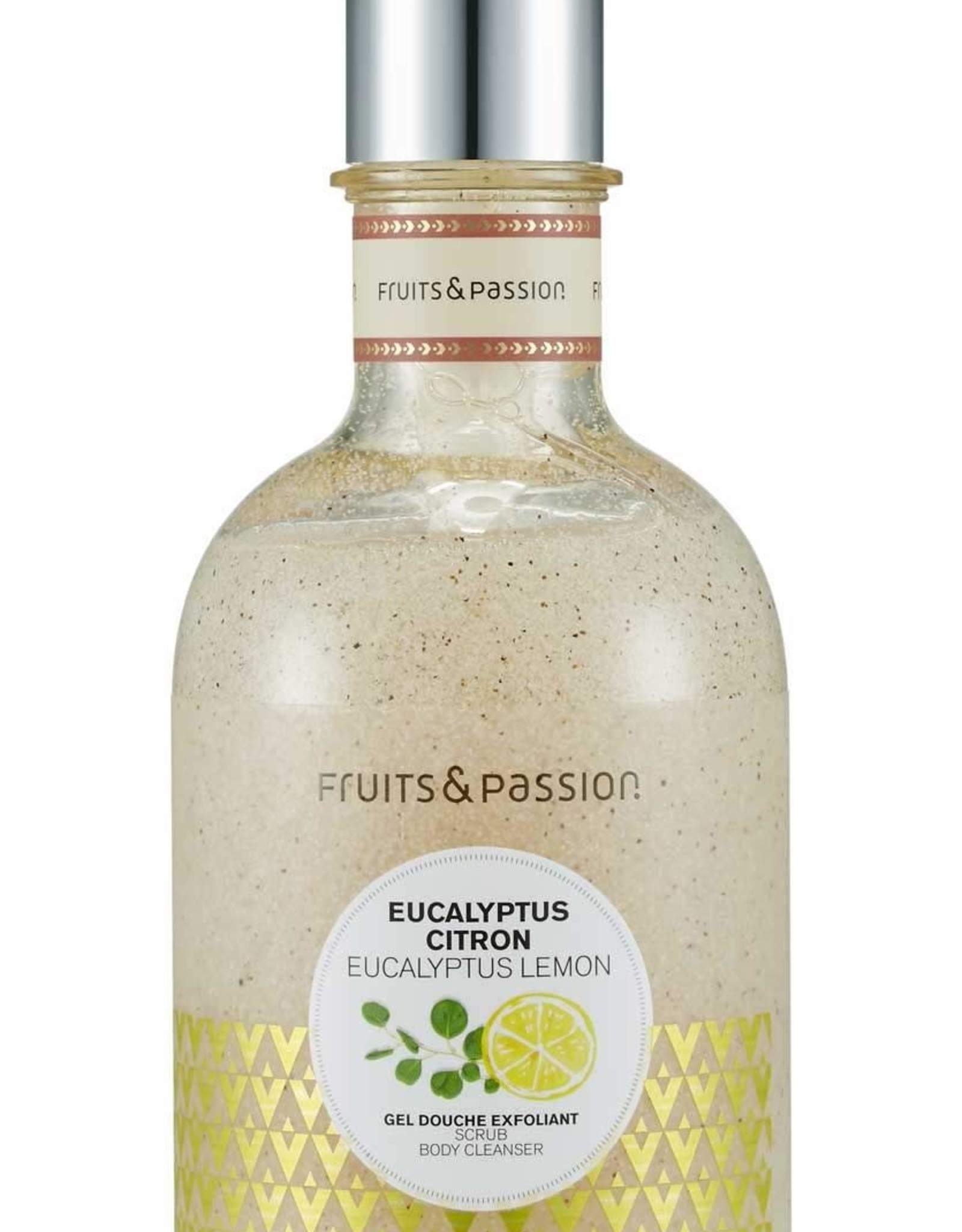 Fruits et Passion Gel Douche Exfoliant Eucalyptus Citron 400ml