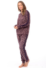 Patricia Lingerie Pyjama 2pcs Léopard avec Manches et Jambes Longues Patricia 937-1