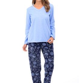 Pyjama Minky 2pcs à Manches et Jambes Longues Patricia Lingerie 934-1