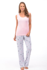 Patricia Lingerie Pyjama 3pcs Camisole et Chandail/Pantalon Long Patricia Lingerie 933-22