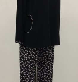 Pyjama 2pcs Pantalon et Manches Longues Motifs Boucles Najerika 4182
