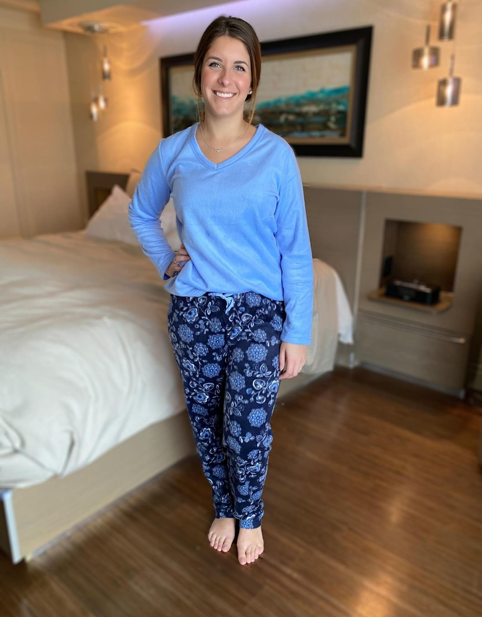 Patricia Lingerie Pyjama Minky 2pcs à Manches et Jambes Longues Patricia Lingerie 934-1