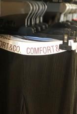 Pantalon Côtelé à Bande Élastique Comfort & Co. LI107145