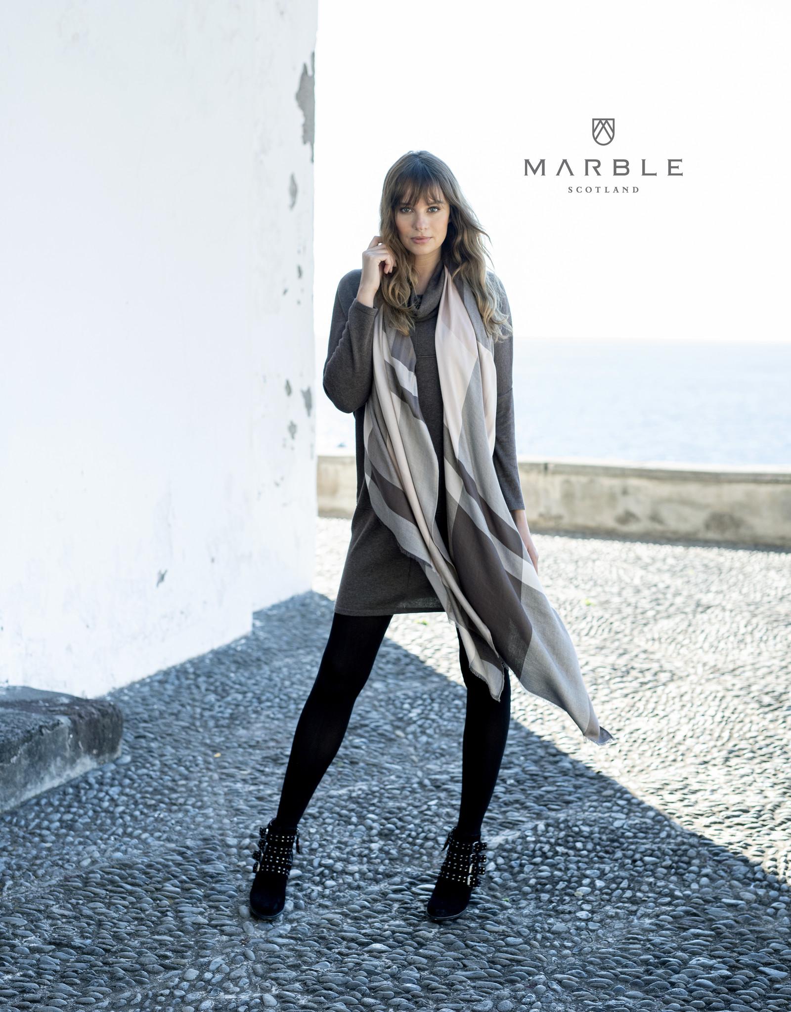 MARBLE Foulard à Carreaux MARBLE 5957