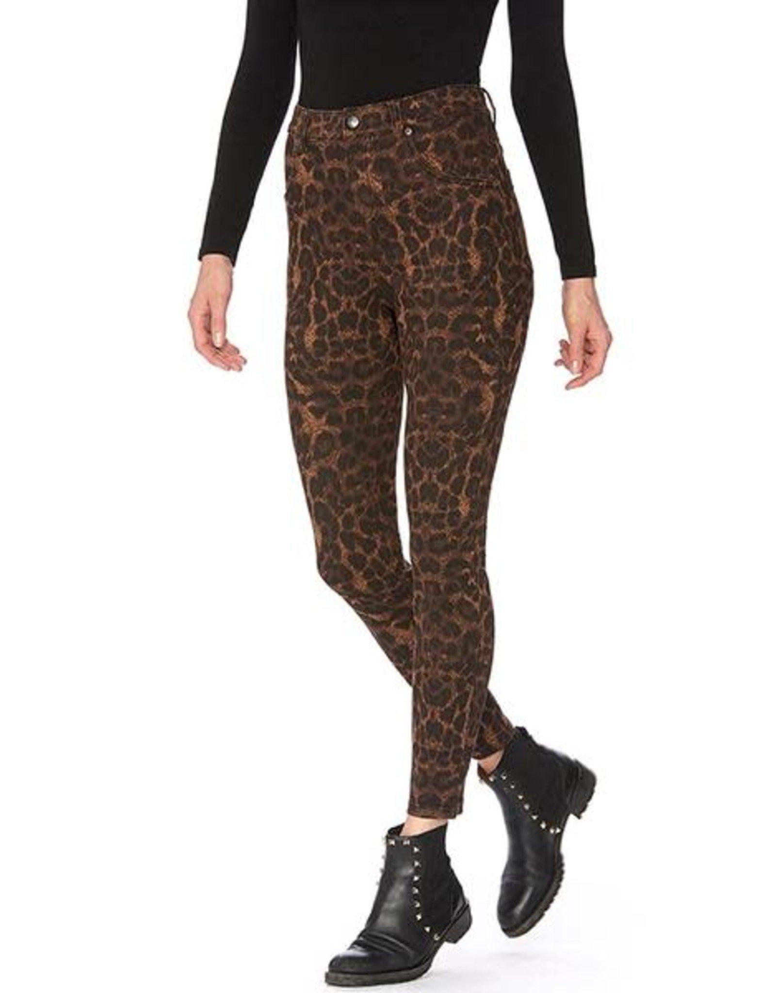 Hue Legging Taille Haute Denim à Imprimé Animal Hue 22094