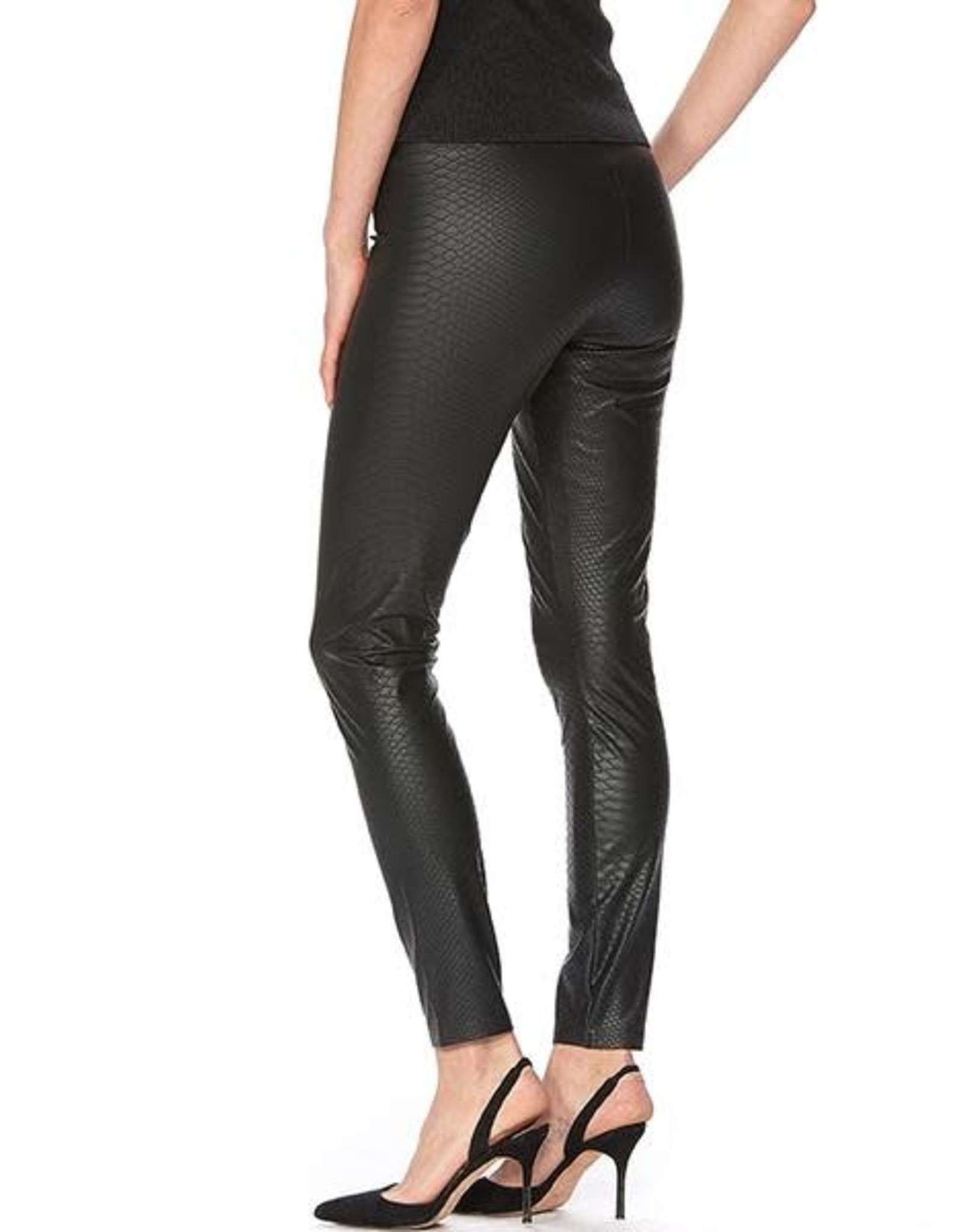 Hue Legging Taille Haute Croco Leatherette Hue 22165