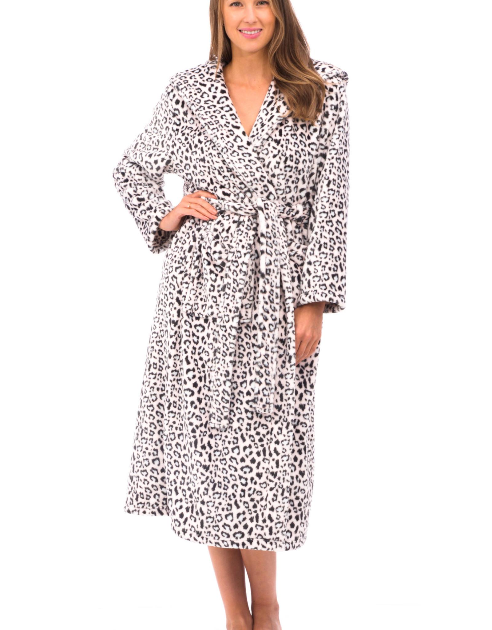 Robe De Chambre Longue Avec Poches Et Cordon Patricia 825 C Boutique Fashionista Et Douceur De Nuit