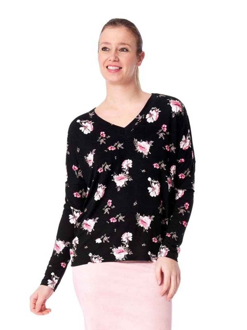 Arianne Haut Col en V à Motif Floral Romance Arianne 7328