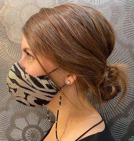 Atelier SYP Chaîne de Masque MasXessories-12 Microfibre Billes