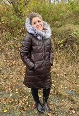 Furlux Manteau Réversible Cuir à Nylon 36 Furlux TUNDRA