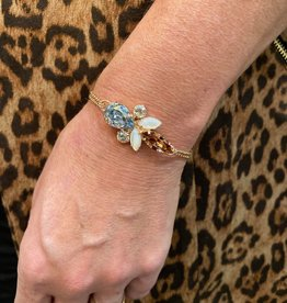 Mariana Bracelet Mariana B-4030/70 Petite Maille Clair/Perle/Rose M1913 RG