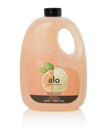 Fruits et Passion Recharge Savon Mains alo Orange Cantaloup 1L