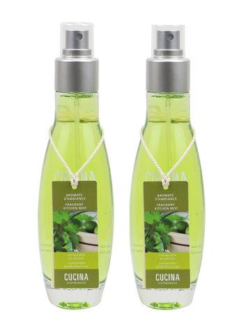 Fruits et Passion Aromate d'Ambiance Cucina Coriandre et Olivier 100ml