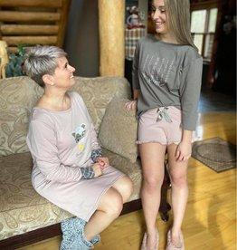 Sensis Pyjama 2pcs Shorts et Manches 3/4 Sensis Sadie