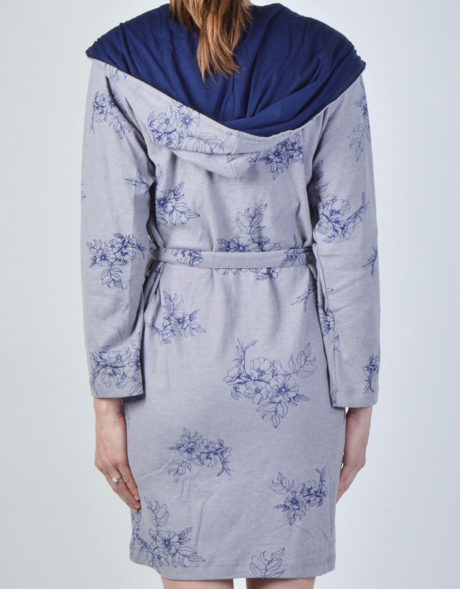 Claudel Robe de Chambre Courte Motif Floral Claudel LI102880