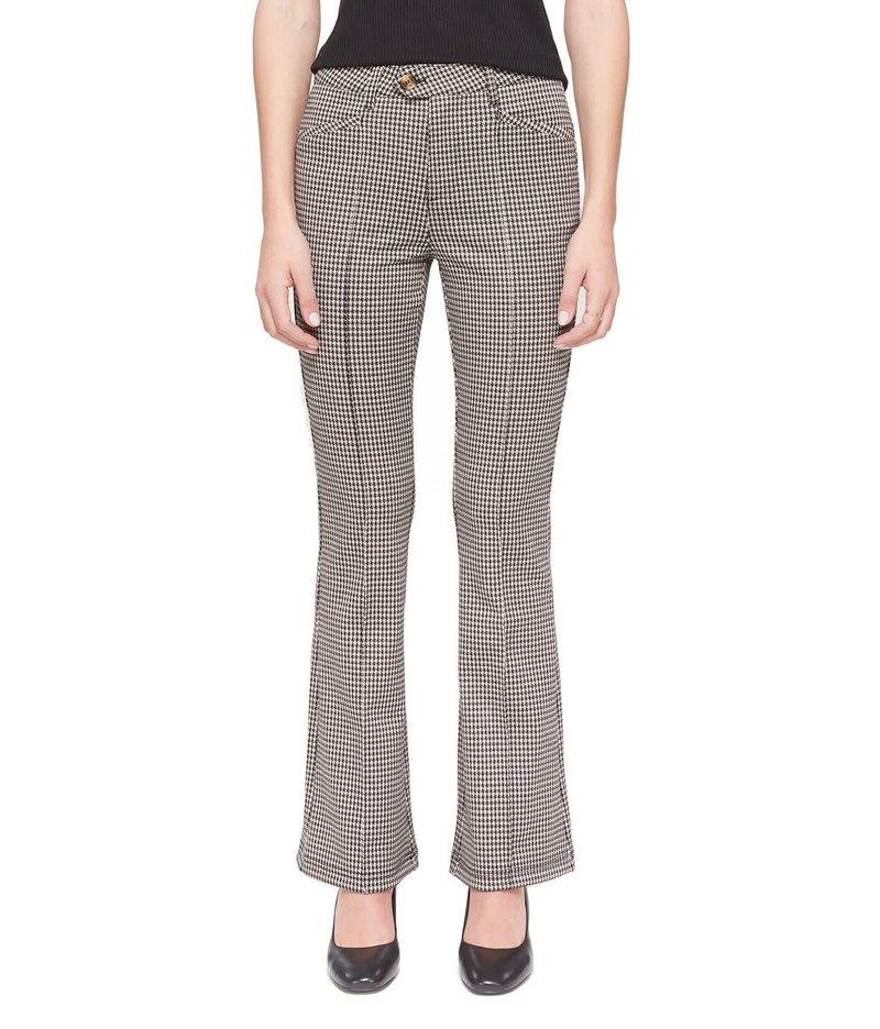Lola Jeans Pantalon Évasé Taille Haute Jacquard Lola Jeans Azure