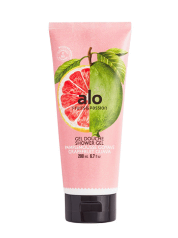Fruits et Passion Gel Douche alo Pamplemousse Goyave 200ml