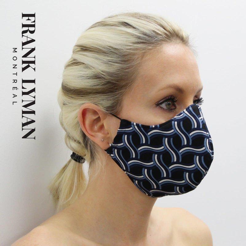 Frank Lyman Masque Fashion Noir/Bleu/Blanc Frank Lyman M-20113