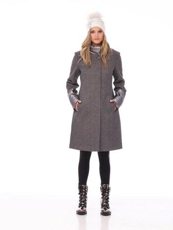 Furlux Manteau de Laine à Gros Boutons Ronds Furlux SHEILA