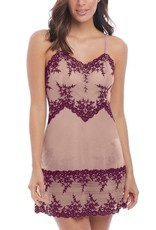Nuisette Courte Bretelles Fines Embrace Lace Wacoal 814191