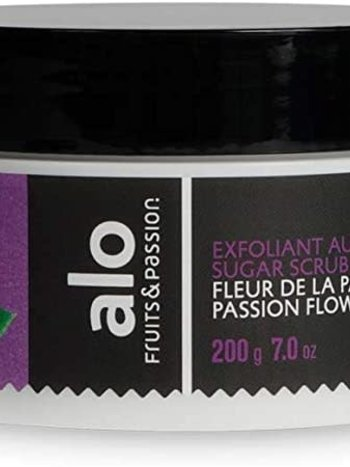 Fruits et Passion Exfoliant au Sucre alo  Fleur de la passion 200g