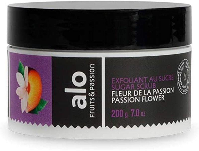 Fruits et Passion Exfoliant au Sucre alo  Fleur de la passion 200g