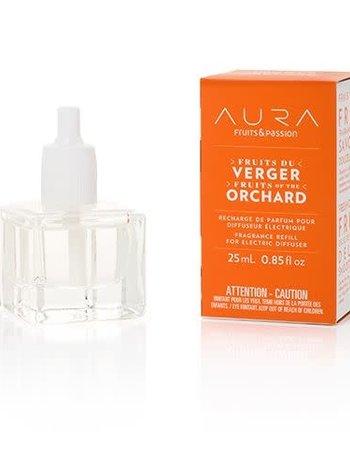 Fruits et Passion Recharge de Parfum pour Diffuseur Electrique AURA Fruits du Verger 25ml