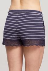 Pantalon Short Moderne avec Dentelle Fleur't 6208