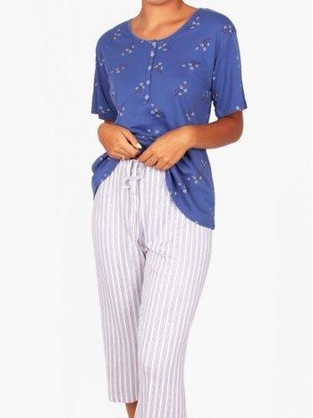Claudel Pyjama 2 pcs Capri et Manches Courtes Claudel L1106791