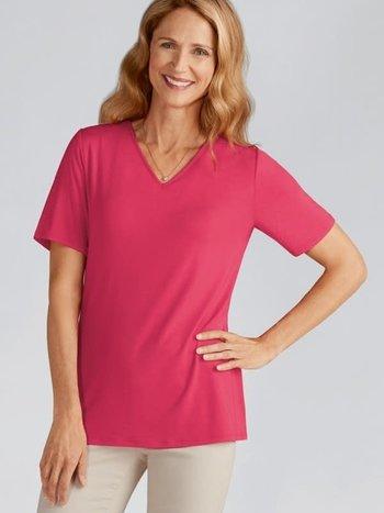 Amoena T-shirt Col V Soutiens-Gorge Intégré pour Prothèses 44197