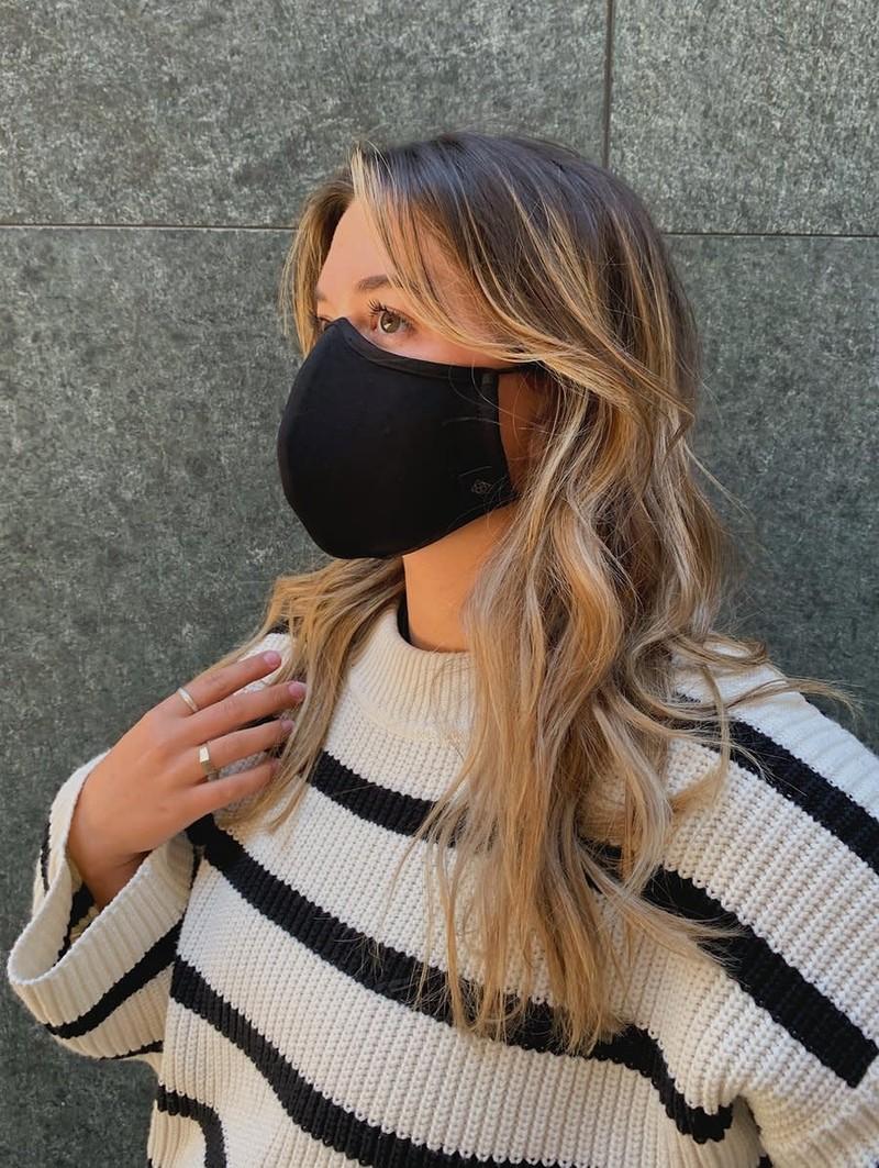 Lambert Masque Réutilisable et Ajustable Noir Lambert