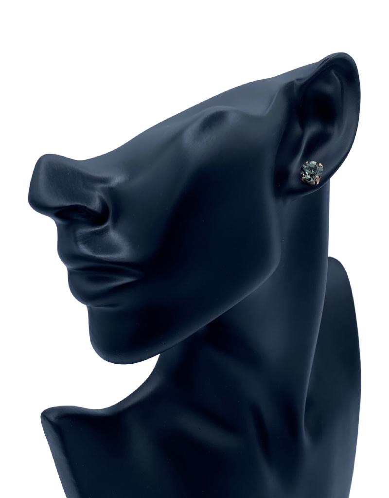 Mariana Boucles d'oreilles E-1440-Poteau Vert Khaki/Gold 215-RG2