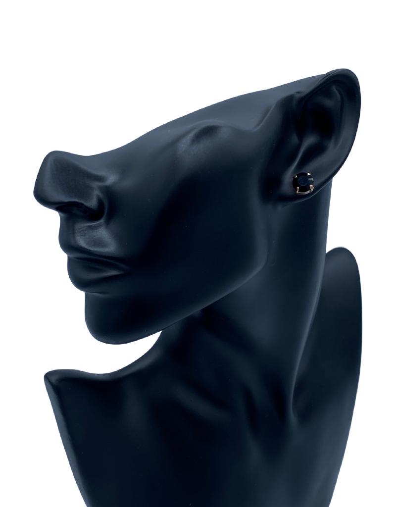 Mariana Boucles d'oreilles Clous Mariana E-1440 Noir 280 RG2